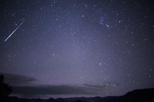 Lluvia de estrellas Oriónidas, alcanzará su pico este sábado