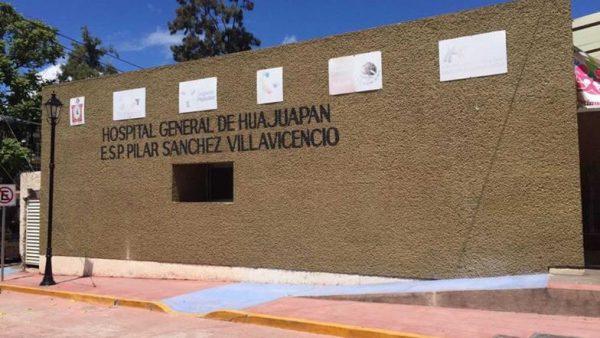 Piden reubicación de hospital en Huajuapan