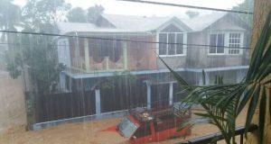 Lluvias causan estragos en Pinotepa Nacional