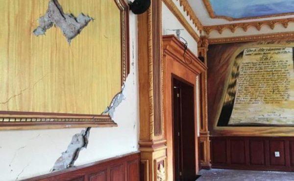 Demolerán palacio de Huajuapan por sismo del 19-S en Oaxaca