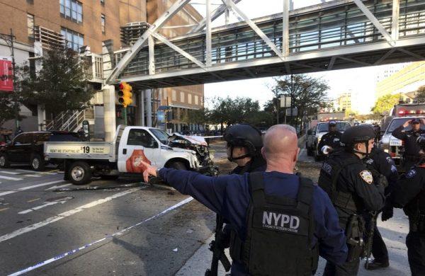 Ataque cerca del WTC de NY deja al menos seis muertos