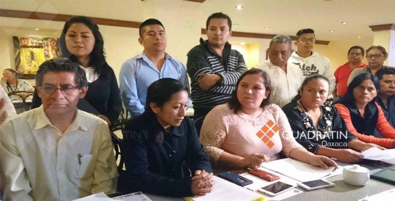 Papás exigen a la CNTE no estallar el paro indefinido en Oaxaca