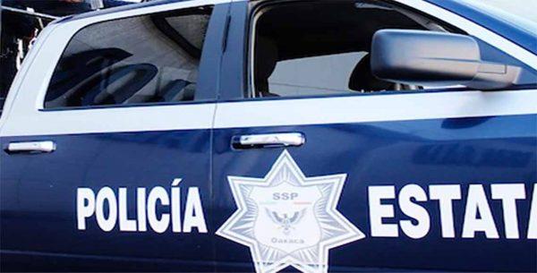 Deja un lesionado ataque a patrulla de la Policía Estatal en Oaxaca