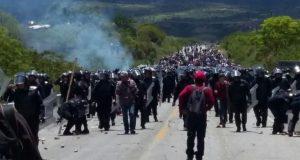 Descarta Policía Federal responsabilidad por violencia en Nochixtlán