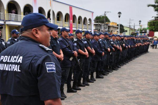 Capacitarán a policías de Tuxtepec, en tema de DH