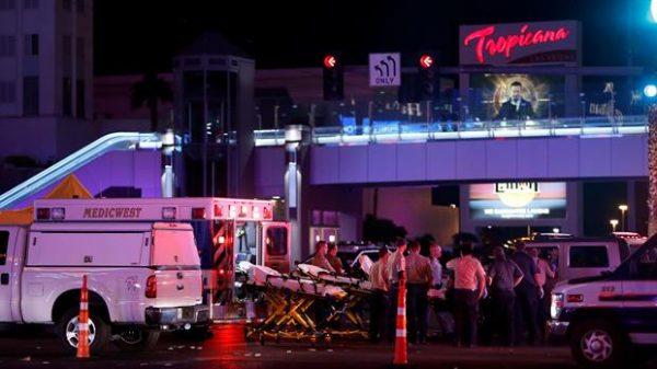 Suman 50 muertos en tiroteo en Las Vegas durante festival de música