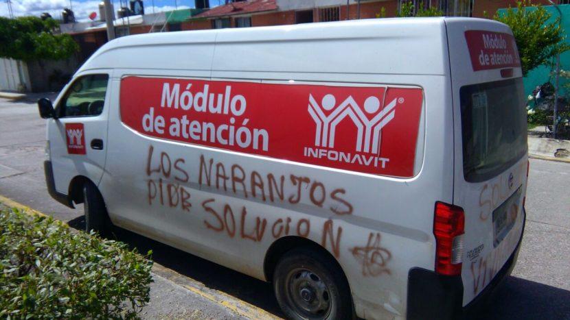 Retienen a supuestos trabajadores del Infonavit en la Mixteca