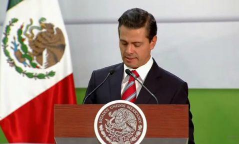 Peña Nieto celebra incremento del salario mínimo a 88.36 pesos