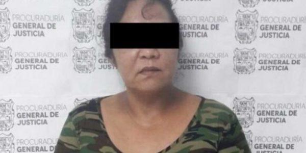 Detienen a hermana del Z40 en Nuevo Laredo, Tamaulipas