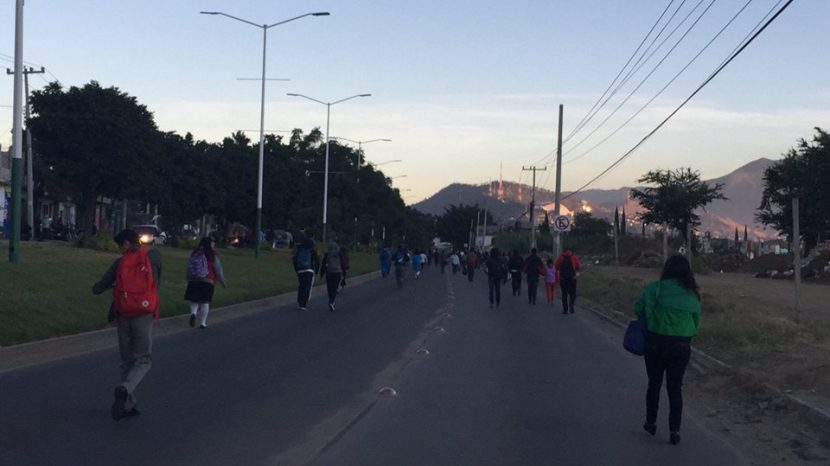 Suspenden servicio en Oaxaca líneas camioneras