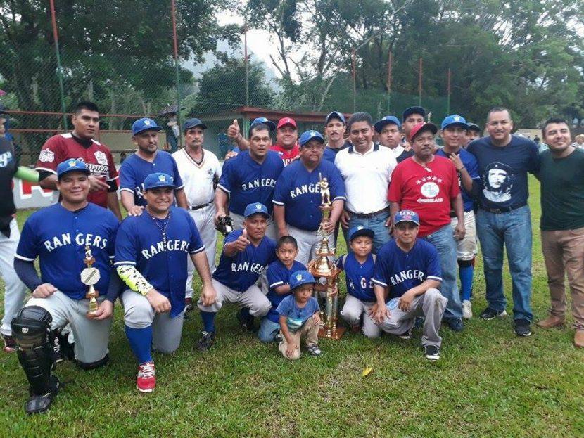 Rangers de Jacatepec nuevo monarca del beisbol en Valle Nacional