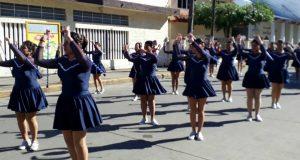 Sólo 6 escuelas participaron en desfile del 20 de noviembre