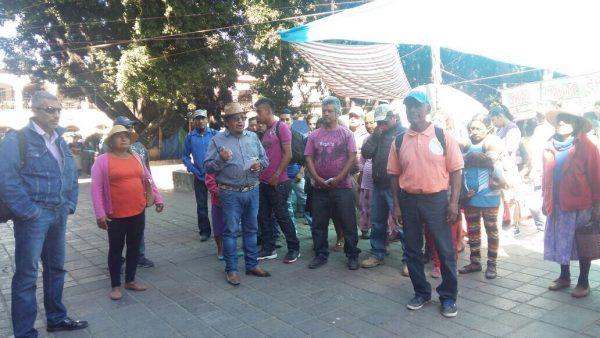 Denuncian fraude por ventas de terrenos en zautla Oaxaca