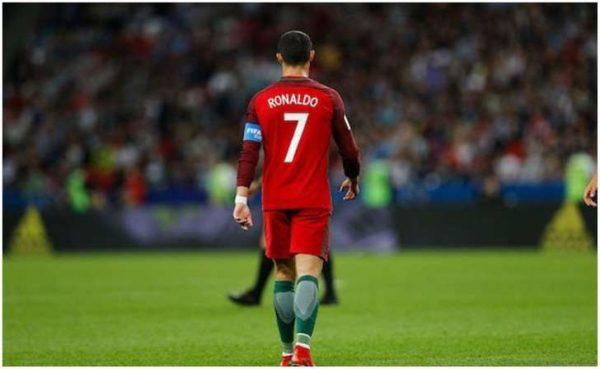 Cristiano Ronaldo, fuera de la selección
