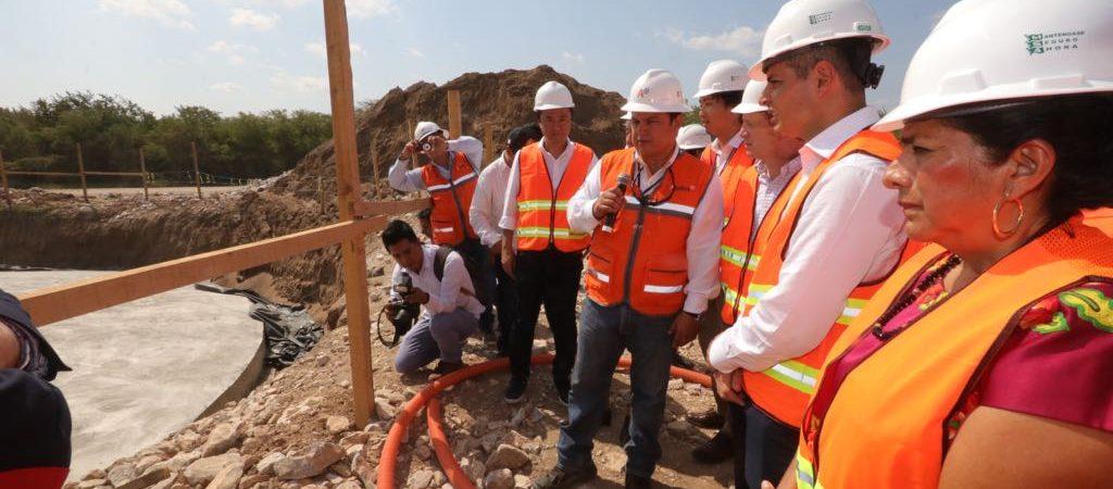 Supervisa AMH construcción del proyecto de Energía Eólica del Sur