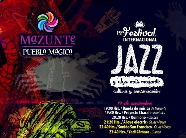 """Anuncia Sectur """"Festival Internacional de Jazz y Algo Más"""" en Mazunte"""