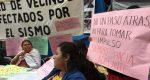 Damnificados del sismo en Juchitán exigen a Sedatu nuevo censo
