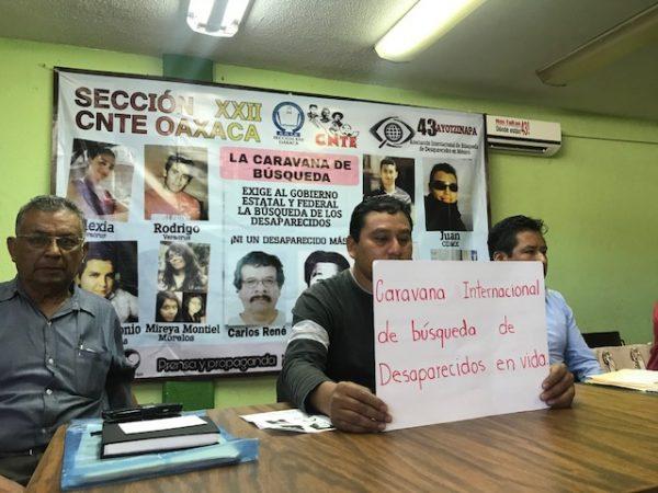 Anuncia S22 y organizaciones, Caravana Internacional de Búsqueda de Desparecidos