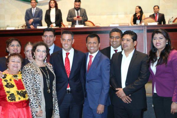 A un año del Gobierno de AMH el estado de Oaxaca camina firme hacia el Desarrollo: Dip. Samuel Gurrión