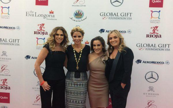 Ivette Morán de Murat participa en la Tercera Edición de The Global Gift Gala
