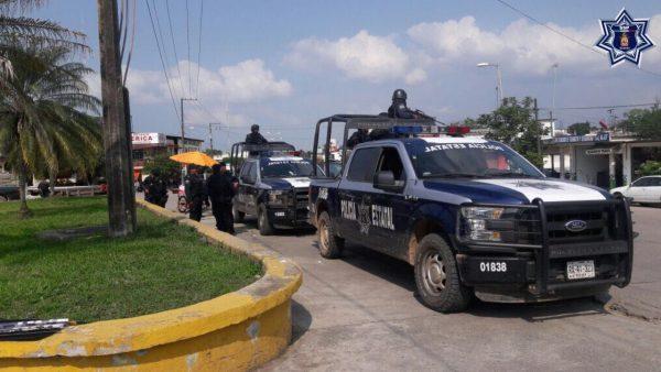 Despliega SSPO agrupamiento de Policía Estatal  en la Cuenca del Papalopan