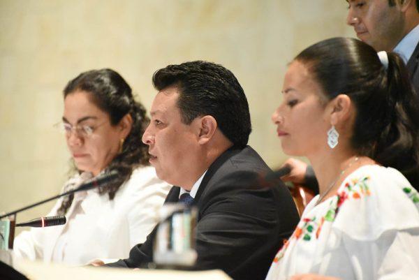 Ante el Pleno piden se presente titular de Finanzas por recursos a damnificados