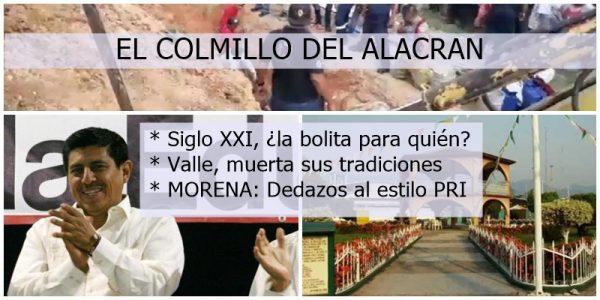 El Colmillo del Alacrán / MORENA, dedazos al estilo PRI