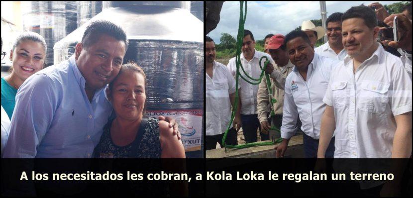 #ASILASCOSAS. A los necesitados les cobran 2 millones, a Kola Loca le regalan un terreno
