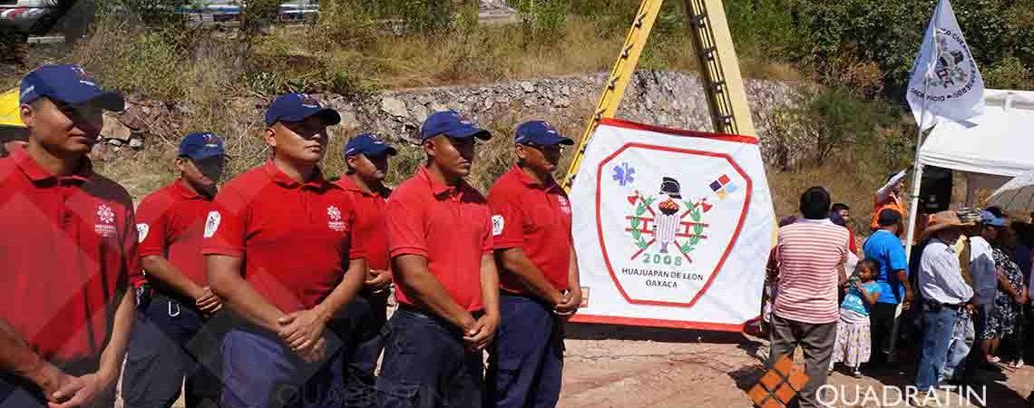 Invertirán 6 mdp en construcción de Casa del Bombero en Huajuapan
