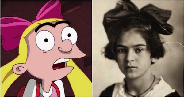 """""""Helga"""" está inspirada en Frida Kahlo cuando era niña"""