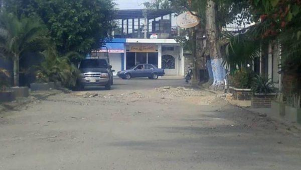 En pésimas condiciones prolongación Carranza, a pesar de reparaciones