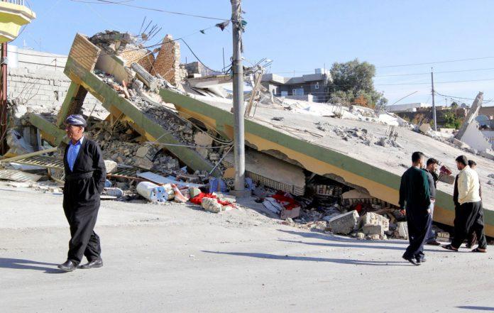 Llega a 339 el número de muertos por sismo en Irán e Irak