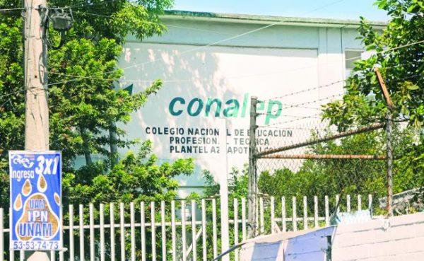 Alumnos del Conalep, los que se sienten más inseguros en el país