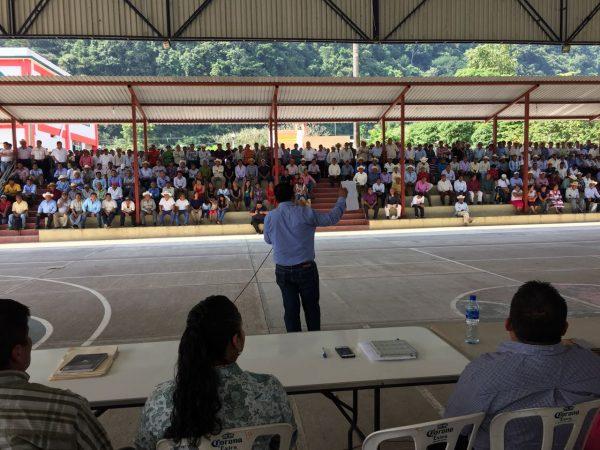 Gobierno y pueblo de Usila rechazan en asamblea proyecto hidroeléctrico