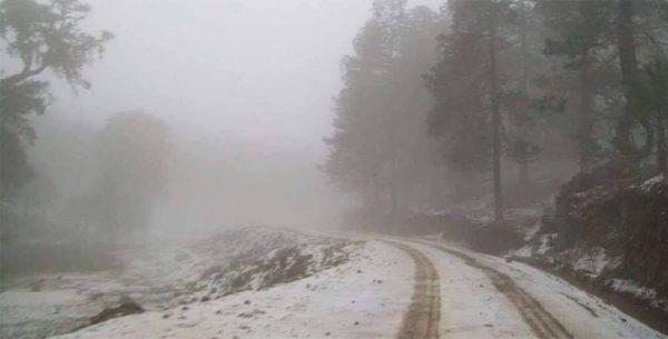 Prevalece pronóstico de heladas en zonas altas de Oaxaca