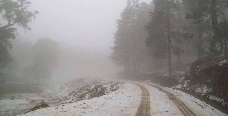 Frente frío mantendrá bajas temperatura en gran parte del país