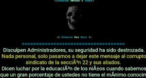 Hackean página web del Instituto Estatal de Educación Pública de Oaxaca