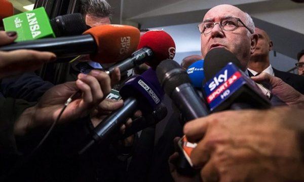 Renuncia presidente de futbol italiano, tras eliminación de Rusia 2018