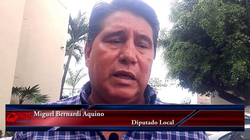 Vigilaremos aplicación correcta de presupuesto en Oaxaca: Diputado Miguel Bernardi