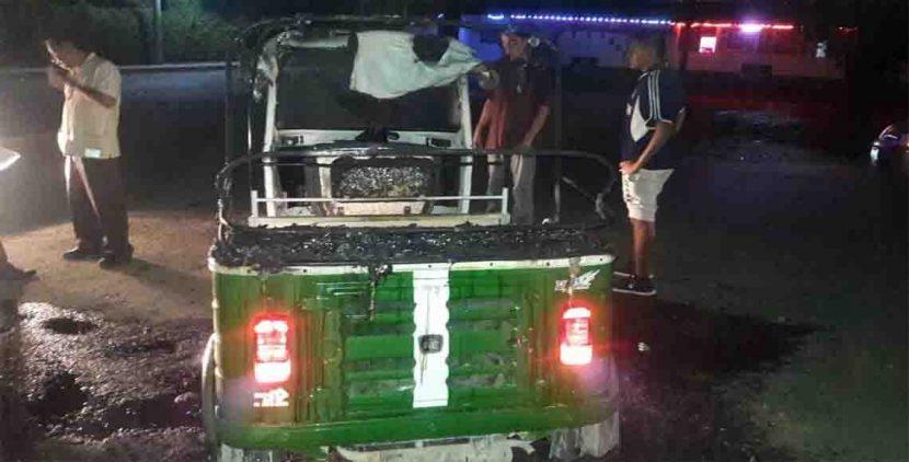 Deja un lesionado enfrentamiento de mototaxistas en Oaxaca