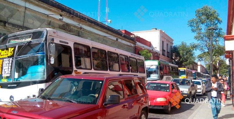 Sección 22 de la CNTE continúa con sus movilizaciones en Oaxaca