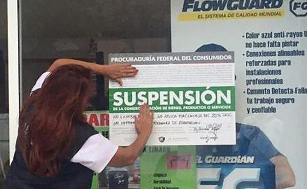 Suspenden seis comercios en Oaxaca por violar precios de materiales