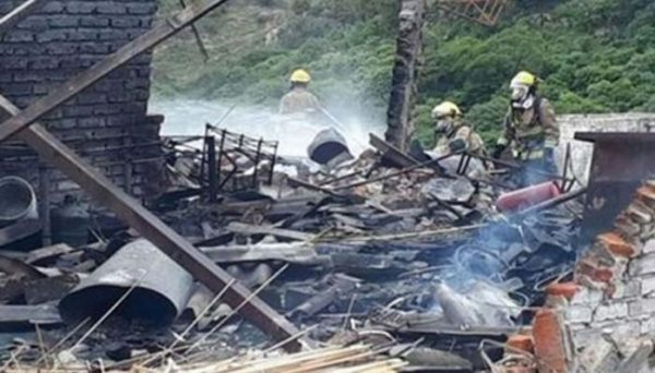 Explota polvorín en Oaxaca, hay tres lesionados