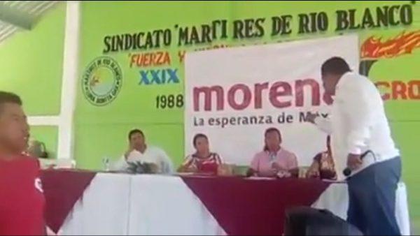 Se quiebra Morena en la Cuenca, Coordinador Distrital acusa a Salomón Jara de vender candidaturas