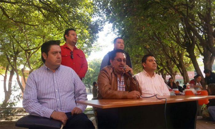 Se fortalece protesta en la UABJO, se suman sindicatos a paro del STEUBJO