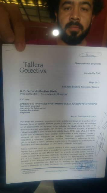 Sí recibí dinero del gobierno municipal, fue para la Tallera: Sakyamuni