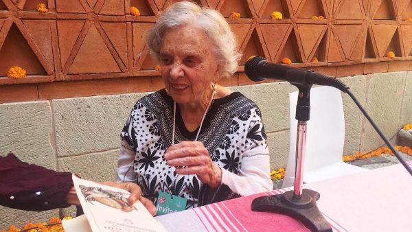 Poniatowska habla de la reconstrucción de Oaxaca y la presidencia de México