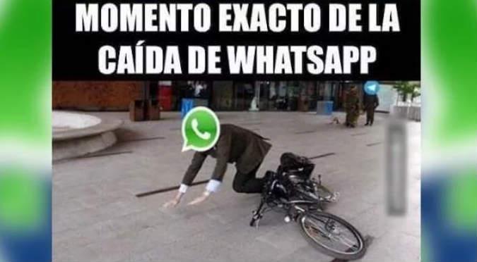 Se despide WhatsApp del 2017 con caída de su servicio