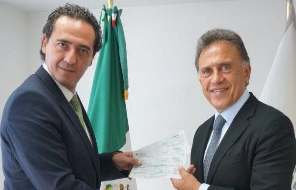Entrega PGR a Veracruz 40 mdp recuperados
