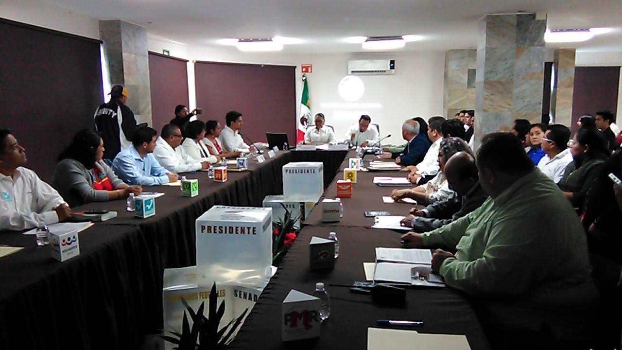 Instalan consejo distrital de INE en San Pedro
